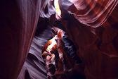 Canyon of Antelope in Arizona USA — Stock Photo