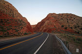 Road of USA, Utah — Stock Photo
