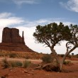 Monument Valley, Navajo Tribal Park, Ari — Stock Photo