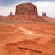 Stock Photo: Monument Valley, Navajo Tribal Park