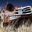 Antique car - Stock Photo