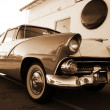 Retro car — Stockfoto