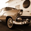 Retro car — Foto Stock #1086878