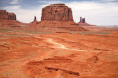 Monument Valley, Navajo Tribal Park — Stock Photo