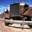 Old american rusty truck outdoors — Stock Photo