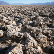Devil's Golf Course - Death Valley — Stock Photo