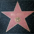 Bill Cosby star on the Hollywood Walk of — Stock Photo