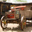Classical old american cart - Stock Photo