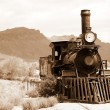 Old usa train — Stock Photo