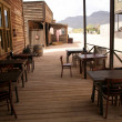 Old cafe in wild west — Stock Photo #1097711
