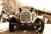 Klasický vintage americký ford — Stock fotografie