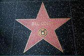 Bill cosby ster op de hollywood walk van — Stockfoto