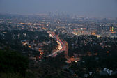 View in night Los Angeles — Stock Photo