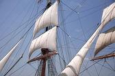 ビンテージ帆 — ストック写真