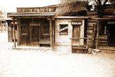 Wild west - vintage USA sheriff house — Stock Photo