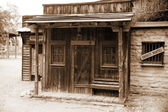 Wild west - old sheriff house — Stock Photo