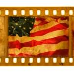 Grunge textured film USA flag — Stock Photo #1330657