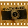 Royalty-Free Stock Photo: Oldies 35mm with retro photo camera