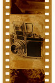 35mm retro photo camera Exacta — Stock Photo