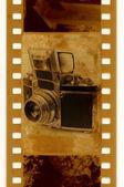 Exacta de cámara 35mm foto retro — Foto de Stock