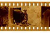 Oldies 35mm avec appareil photo rétro — Photo