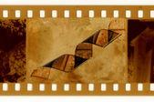 Photo d'oldies avec ruban de film — Photo