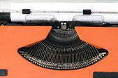 старая пишущая машинка — Стоковое фото