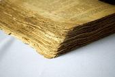 Close-up do livro velho — Fotografia Stock
