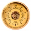 Stock Photo: Old barometer