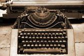 古いタイプライター — ストック写真