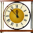 Foto Stock: Antique clock face