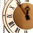 Antique clock face — Foto de Stock