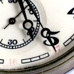 relógio velho — Foto Stock