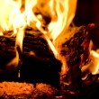 Close-up of fire — Stock Photo
