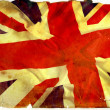 Royalty-Free Stock Photo: Vintage flag UK