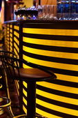 Stylish night bar contemporary decor — Stock Photo