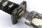 Katana - Japanese sword — Stock Photo