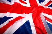 Flag of UK, British flag, union jack — Stock Photo