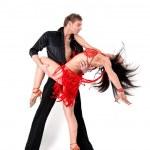bailarines en acción — Foto de Stock