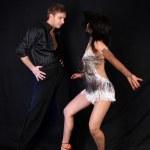 dansçılar içinde hareket — Stok fotoğraf #1984402