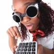 Afro american accountant — Stock Photo #2014725
