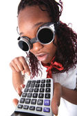 Afro american accountant — Stock Photo