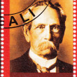 Постер, плакат: Stamp showing Karl Benz