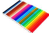 24 цвета ручки, изолированные на белом фоне — Стоковое фото