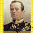 francobollo mostrato capitano falco robert scott — Foto Stock #2097023