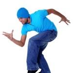 Man cool modern dancer — Stock Photo