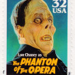 Lon Chaney as Phantom of the Opera - Stock Photo