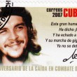 Постер, плакат: Stamp shows Che Guevara