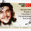 Stamp shows Che Guevara — Stock Photo