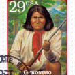 Royalty-Free Stock Photo: Stamp show Geronimo